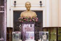 Busto de Ho Chi Minh Foto de archivo