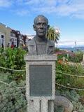 Busto de John Steinbeck Fotos de archivo libres de regalías