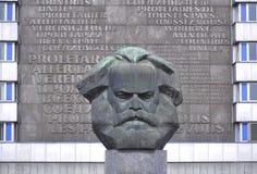 Busto de Karl Marx Foto de archivo libre de regalías