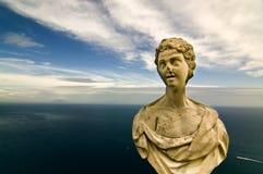 Busto de la orilla del mar Foto de archivo