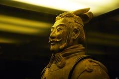 Busto de la terracota Fotografía de archivo libre de regalías