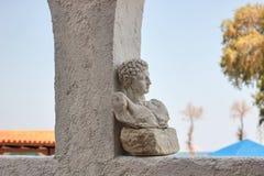 Busto de mármol Imágenes de archivo libres de regalías