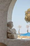 Busto de mármol Imagenes de archivo