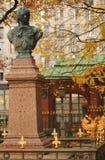Busto de Peter el grande en St Petersburg Fotos de archivo libres de regalías