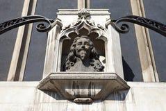 Busto de rey Charles 1r en Londres Foto de archivo libre de regalías