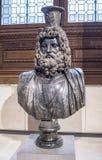 Busto de Serapis Francaises dos royales das coleções Grelha Foto de Stock Royalty Free