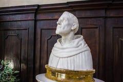 Busto de St Dominic Fotografía de archivo