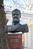 Busto de Vasily Khitrovo Imagens de Stock