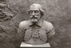 Busto del amo de la orden de Livonian Imágenes de archivo libres de regalías