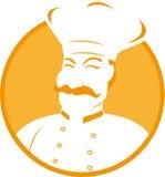 Busto del cocinero Foto de archivo libre de regalías