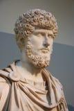 Busto del emperador romano Imagen de archivo