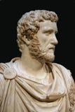 Busto del emperador romano Fotos de archivo