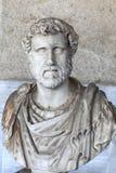 Busto del emperador romano Antoninus Pius Imagen de archivo libre de regalías
