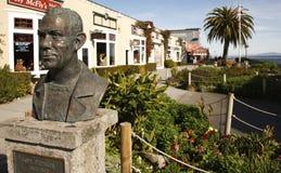 Busto del John Steinbeck Immagine Stock Libera da Diritti