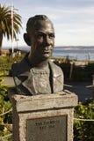 Busto del John Steinbeck Immagine Stock
