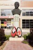 Busto del muchacho del explorador Sashi Filippova Stalingrad, Rusia foto de archivo libre de regalías