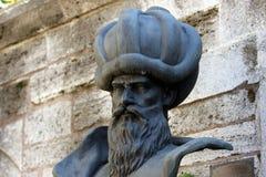 Busto dell'architetto Sinan Fotografia Stock