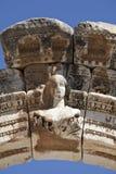 Busto dell'arco del Hadrian, Ephesus Fotografie Stock Libere da Diritti