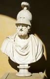 Busto di Alessandro Magno fotografia stock