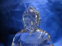Busto di cristallo di buddha Fotografia Stock