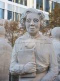 Busto di Eudora Welty Fotografie Stock Libere da Diritti