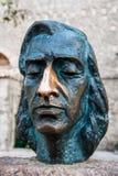 Busto di Frederic Chopin fotografia stock