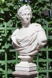 Busto di generale romano Julius Caesar Fotografie Stock Libere da Diritti