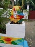 Busto di Lapu-Lapu Fotografie Stock