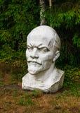 Busto di Lenin Parco di Grutas immagine stock libera da diritti