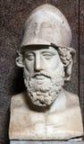 Busto di Pericles Fotografie Stock