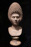 Busto di Roman Woman antico Fotografia Stock