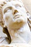 Busto di un imperatore greco immagine stock