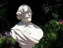 Busto di William Shakespeare immagine stock libera da diritti
