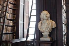 Busto do doutor Lawson na faculdade da trindade Foto de Stock Royalty Free