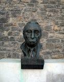 Busto do herói da guerra de Mosa Pijade no túmulo dos heróis Belg do pessoa Imagens de Stock
