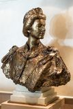 Busto do HM Queen Elizabeth II foto de stock