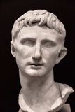 Busto do imperador Augustus foto de stock