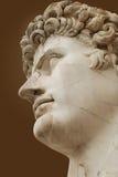 Busto romano Fotografia Stock