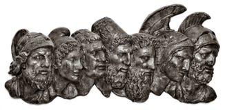 Bustos romanos Imagen de archivo