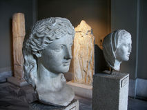 Busts at Istanbul Archaeological Stock Photos