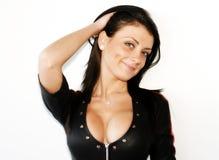Busty woman Stock Photo