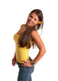 Busty young woman Royalty Free Stock Image