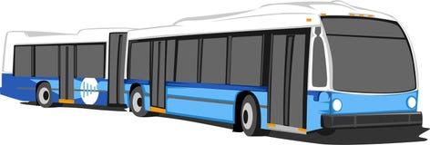 Busvector royalty-vrije illustratie