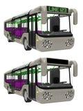 Busvoorzijde Royalty-vrije Illustratie