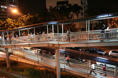 Busway Jakarta Immagine Stock Libera da Diritti