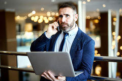 Busy agent Stock Photo