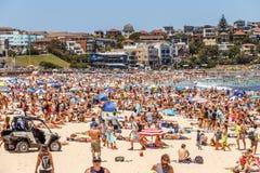 Free Busy Bondi Beach At New Year`s Eve Stock Photo - 150540270