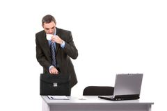 Busy boss Stock Photography