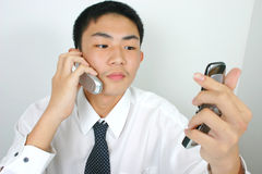 Busy business Stock Image