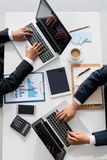 Busy business people Royalty Free Stock Photo